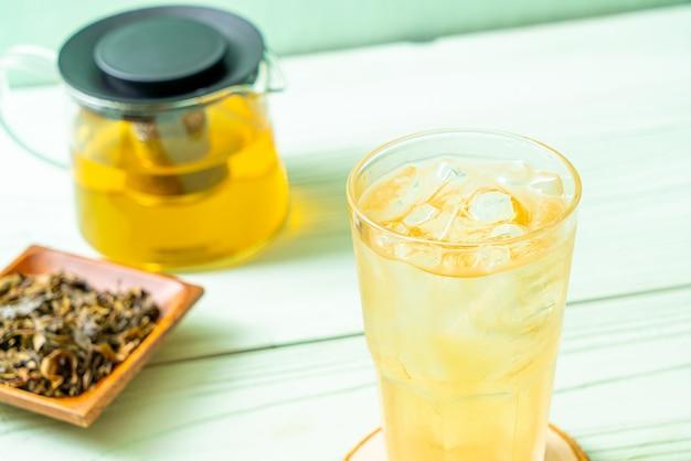Thé au jasmin glacé