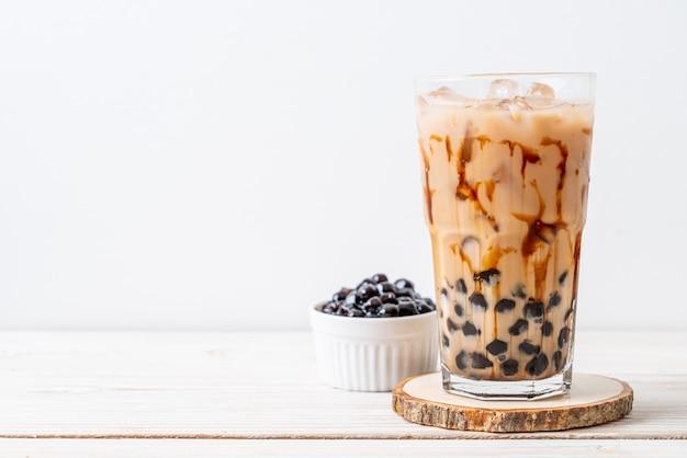 Thé au lait de taiwan avec bulle