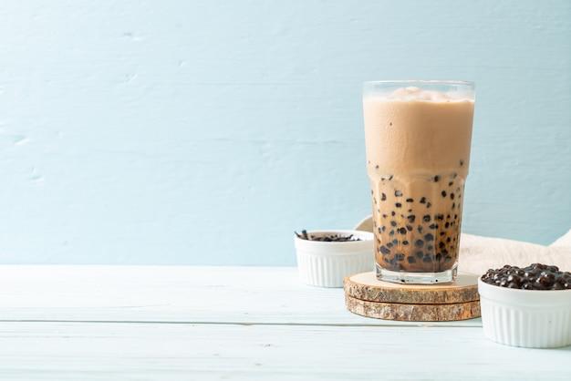 Thé au lait de taiwan avec des bulles