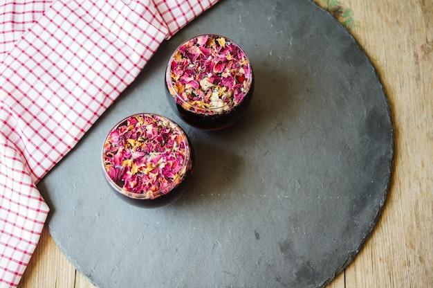 Thé de bourgeon de rose