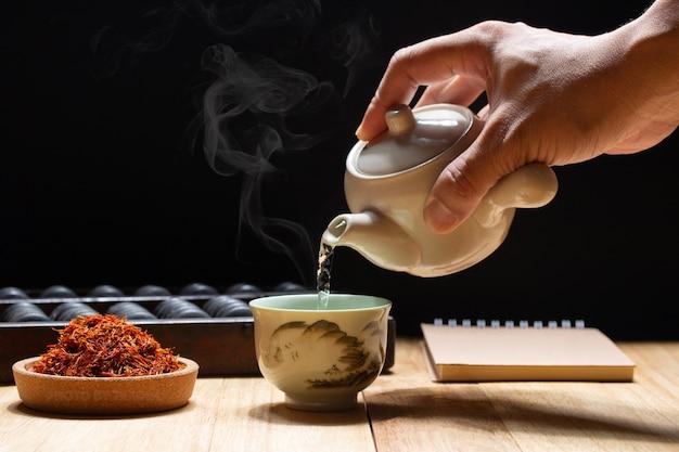 Le thé de carthame réduit le chlorestérol