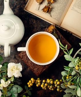 Thé dans une tasse