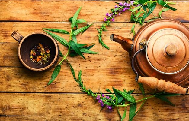 Thé d'épilobe naturel, thé d'ivan