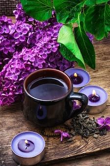 Thé de fleurs