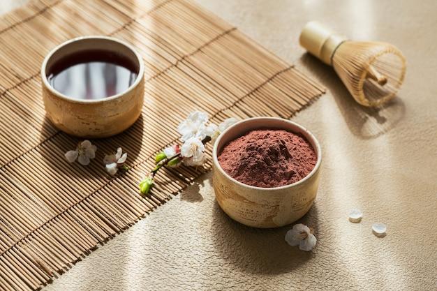 Thé matcha en poudre colorant bio