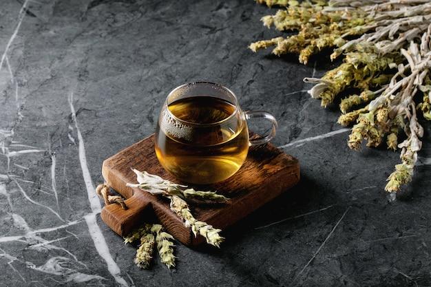 Thé de montagne grecque aux herbes verte