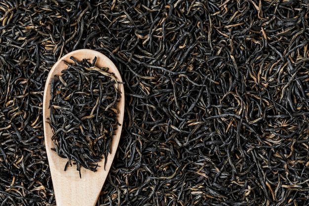 Thé noir fond