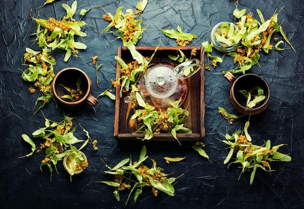 Thé parfumé au tilleul