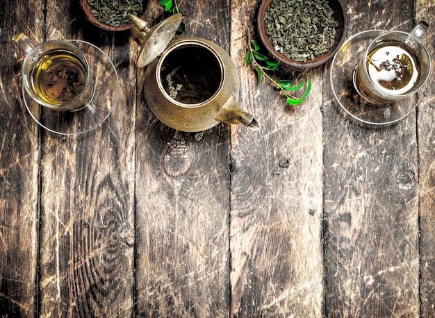 Thé à saveur chinoise.