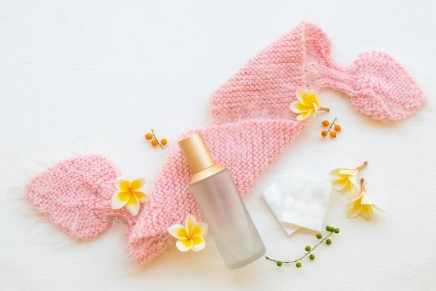 The therapy first sérum toners, cosmétiques naturels en coton