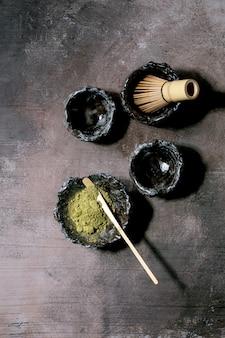 Thé vert matcha japonais