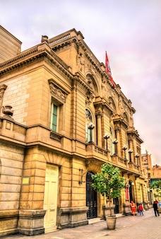Théâtre municipal de lima au pérou