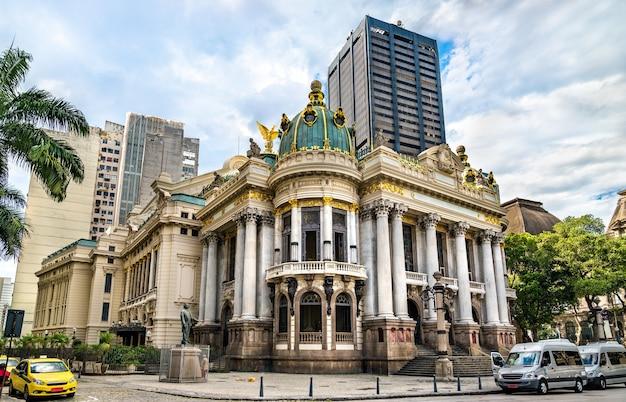 Théâtre municipal de rio de janeiro, brésil