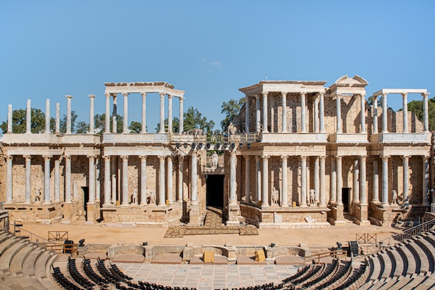Théâtre romain de mérida, espagne