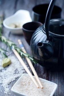 Théière noire chinoise