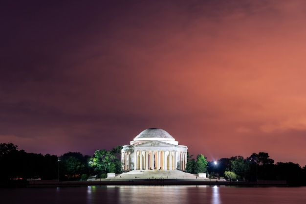 Thomas jefferson memorial washington dc, états-unis d'amérique