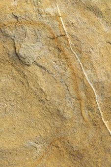 Tir vertical de la surface d'un rocher