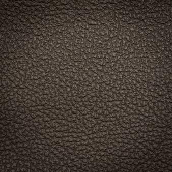 Tirage macro en cuir noir