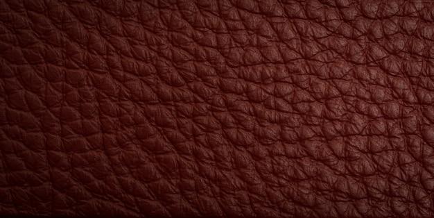 Tirage macro en cuir