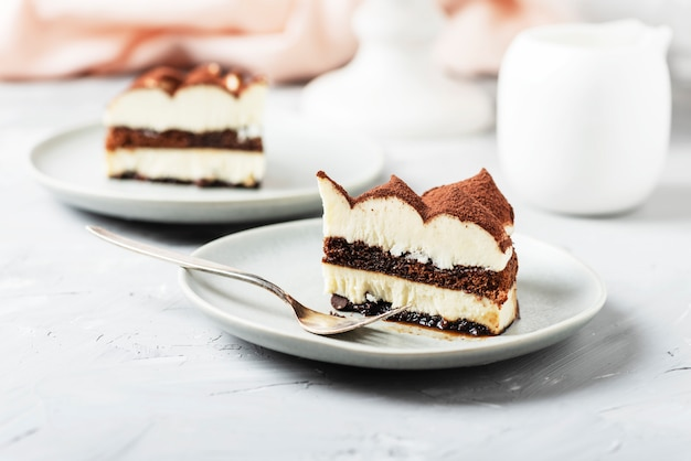 Tiramisu au gâteau italien traditionnel