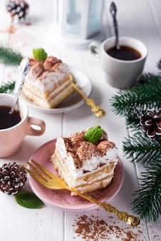 Tiramisu dessert italien traditionnel
