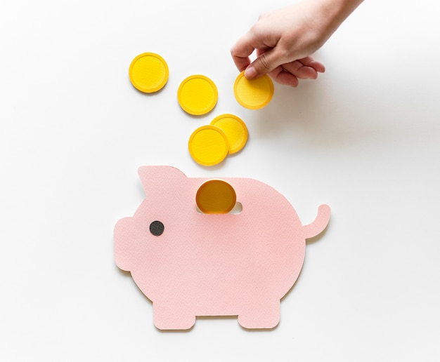 Tirelire investissement futur épargne