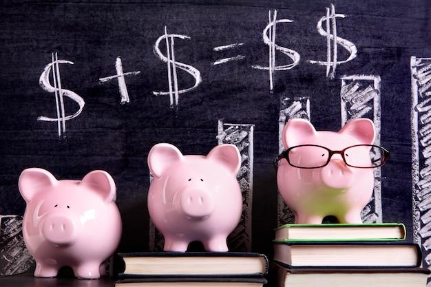Tirelires avec formule d'épargne