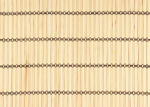 Tissage de bambou parfait pour le fond.