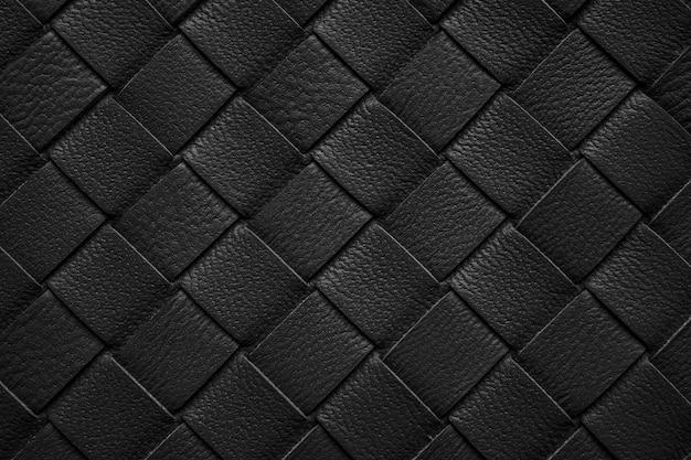 Tisser la texture du cuir de fond