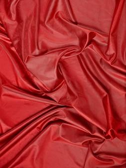 Tissu abstrait rouge