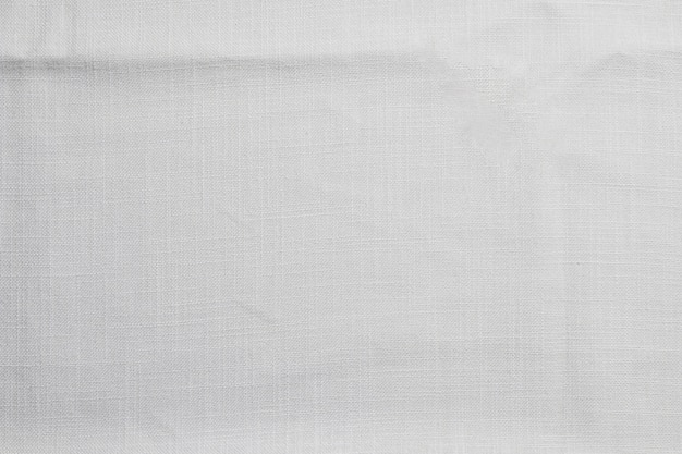 Tissu blanc boulangerie vue de dessus