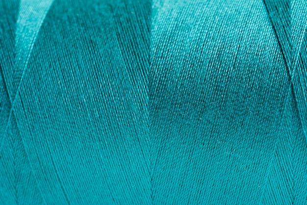 Tissu bleu closeup