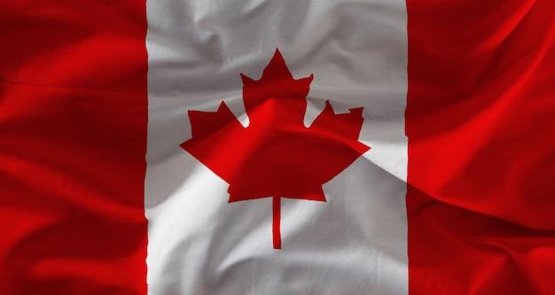 Tissu canada drapeau