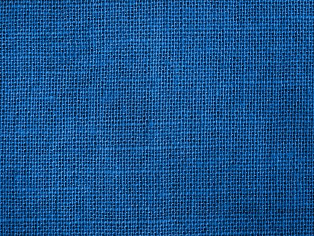 Tissu en coton bleu naturel comme couleur de fond 2020.