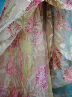 Tissu en couleur de conception, de style, des points, pastel