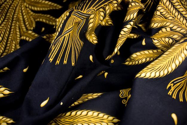 Tissu de culture batik javanese java indonesia