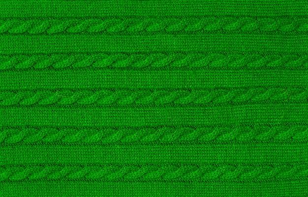 Tissu doux et chaud vert