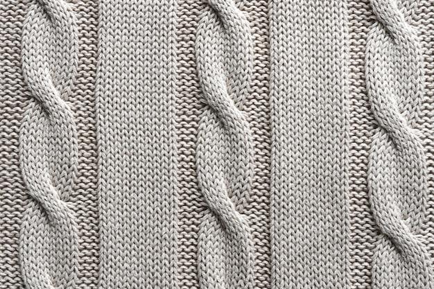 Tissu jersey gris texture avec un motif