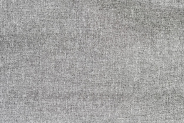 Tissu en lin gris. fond de texture
