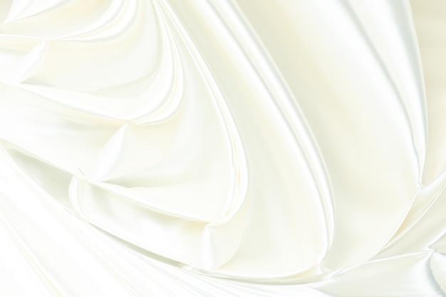 Tissu de luxe abstrait ou vague liquide ou plis ondulés de matériau de velours satiné texture soie grunge