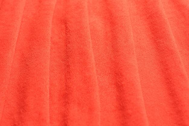 Tissu moderne de couleur corail