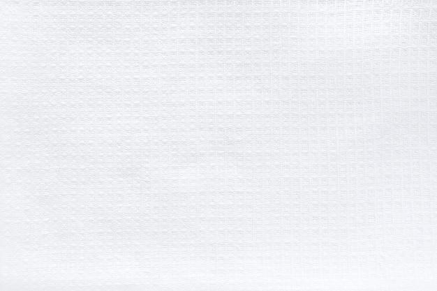 Tissu naturel en lin blanc de coton, texture de fond écologique