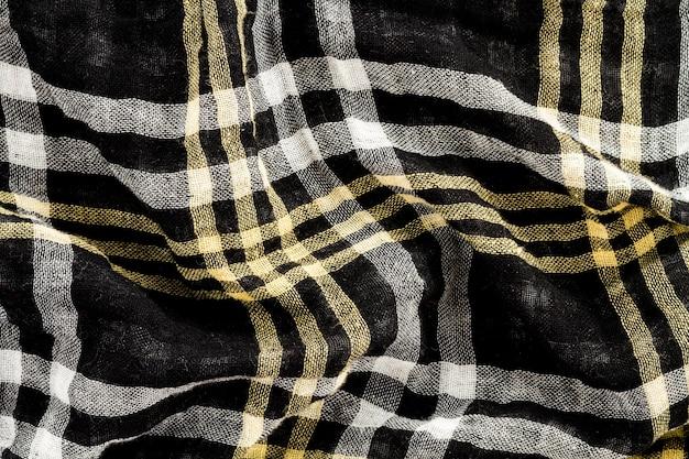 Tissu à plat
