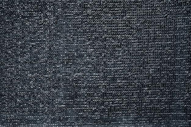 Tissu de raphia gris texture plastique