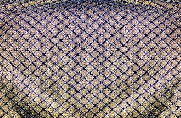 Tissu en soie à motif thi