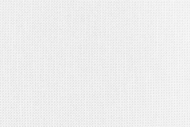 Tissu teint en fil de coton blanc à partir de détails de texture de sac en tissu