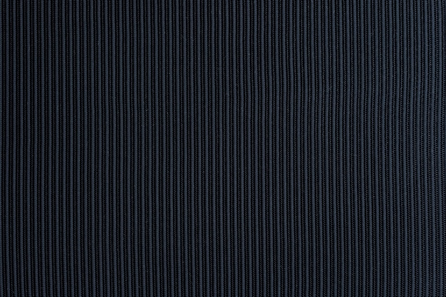Tissu texturé noir