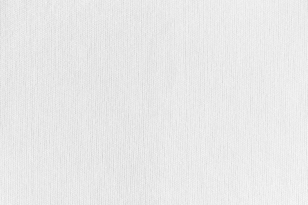 Tissu en tissu blanc texture polyester et fond textile.