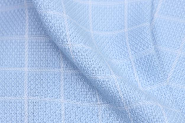 Tissu en tissu avec des carrés