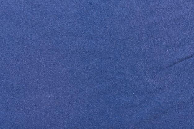 Tissu de toile de fond de texture de toile de fond textile. bleu.